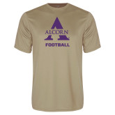 Performance Vegas Gold Tee-Alcorn Football