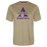 Performance Vegas Gold Tee-Alcorn Basketball