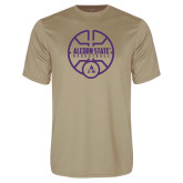 Performance Vegas Gold Tee-Alcorn State Basketball