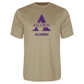 Performance Vegas Gold Tee-Alcorn Alumni