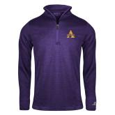 Russell Purple Heather 1/4 Zip-Alcorn A