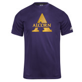 Russell Core Performance Purple Tee-Alcorn A