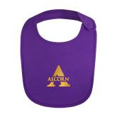 Purple Baby Bib-Alcorn A