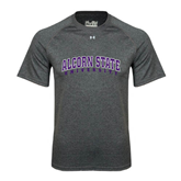 Under Armour Carbon Heather Tech Tee-Arched Alcorn State University