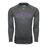 Under Armour Carbon Heather Long Sleeve Tech Tee-Arched Alcorn State