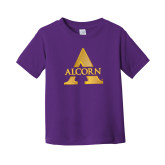 Toddler Purple T Shirt-Alcorn A
