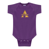 Purple Infant Onesie-Alcorn A