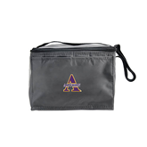 Six Pack Grey Cooler-Alcorn Official Logo