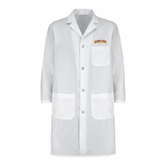 Mens White Lab Coat-Arched Alcorn State University