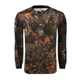 Realtree Camo Long Sleeve T Shirt w/Pocket-Alcorn Official Logo