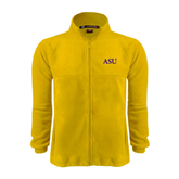 Fleece Full Zip Gold Jacket-ASU