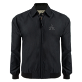 Black Players Jacket-Alcorn Official Logo