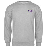 Grey Fleece Crew-ASU