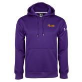 Under Armour Purple Performance Sweats Team Hoodie-Alcorn State University