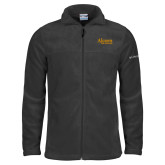 Columbia Full Zip Charcoal Fleece Jacket-Alcorn State University