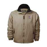 Khaki Survivor Jacket-Alcorn Official Logo