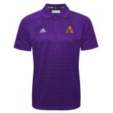 Adidas Climalite Purple Jacquard Select Polo-Alcorn A