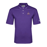 Under Armour Purple Performance Polo-Alcorn Official Logo