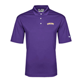 Under Armour Purple Performance Polo-Arched Alcorn State University