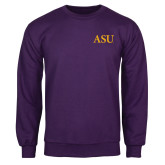 Purple Fleece Crew-ASU