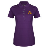 Ladies Callaway Opti Vent Purple Polo-Alcorn A