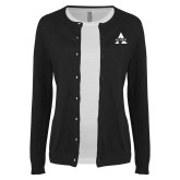 Ladies Black Cardigan-Alcorn A