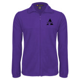 Fleece Full Zip Purple Jacket-Alcorn A