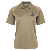 Ladies Vegas Gold Textured Saddle Shoulder Polo-Alcorn A