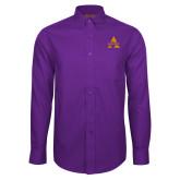 Red House Purple Long Sleeve Shirt-Alcorn A