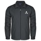 Full Zip Charcoal Wind Jacket-Alcorn A