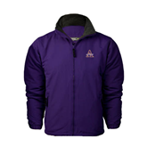 Purple Survivor Jacket-Alcorn Official Logo