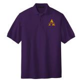 Purple Easycare Pique Polo-Alcorn A