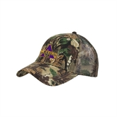 Camo Pro Style Mesh Back Structured Hat-Alcorn Official Logo