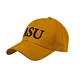 Gold Heavyweight Twill Pro Style Hat-ASU
