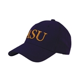 Purple Heavyweight Twill Pro Style Hat-ASU