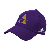 Adidas Purple Structured Adjustable Hat-Alcorn A
