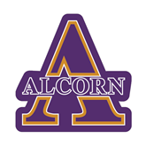 Small Magnet-Alcorn Official Logo, 6 in W