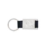 Leather Black Key Holder-Alcorn Engrave