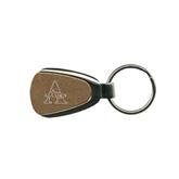 Gold Teardrop Key Holder-Alcorn Engrave