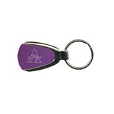 Purple Teardrop Key Holder-Alcorn Engrave