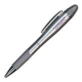 Silver/Silver Blossom Pen/Highlighter-Alcorn State University