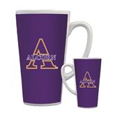 Full Color Latte Mug 17oz-Alcorn Official Logo