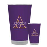 Full Color Glass 17oz-Alcorn Official Logo