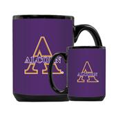 Full Color Black Mug 15oz-Alcorn Official Logo