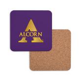 Hardboard Coaster w/Cork Backing-Alcorn A