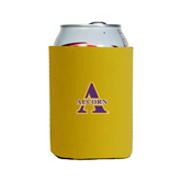 Collapsible Gold Can Holder-Alcorn Official Logo