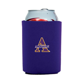 Collapsible Purple Can Holder-Alcorn Official Logo