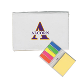 Micro Sticky Book-Alcorn Official Logo