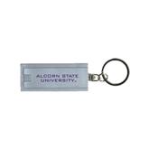 Turbo Silver Flashlight Key Holder-Alcorn State University