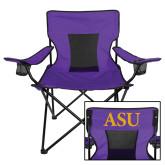 Deluxe Purple Captains Chair-ASU